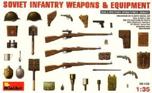 MT35102 Soviet Infantry Weapons and Equipment
